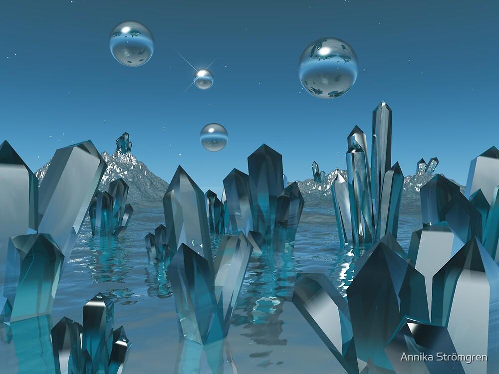 Crystal world by Annika Strömgren