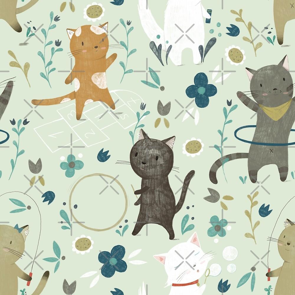 Cat's Playground by Judith Loske