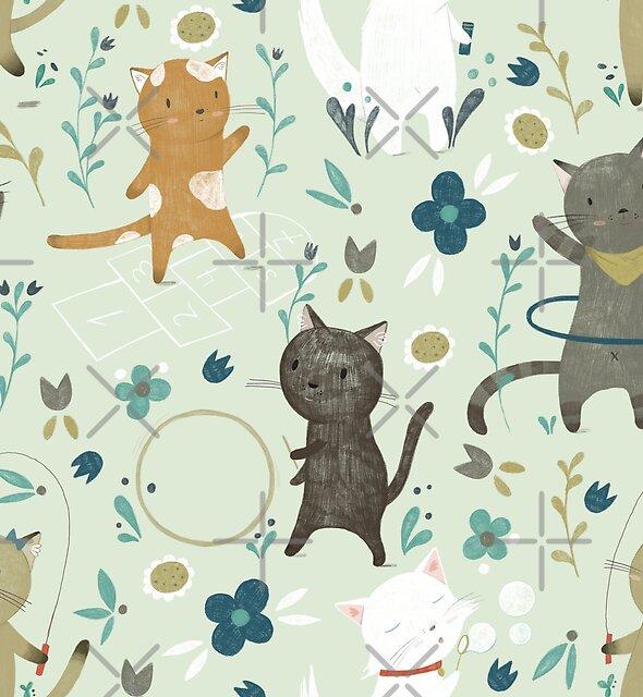 Katzenspielplatz von Judith Loske