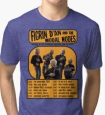 The Cantina Band Tour Poster Tri-blend T-Shirt