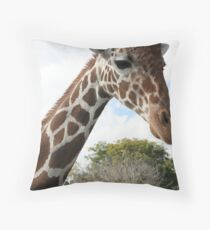 Graceful Giraffe Throw Pillow