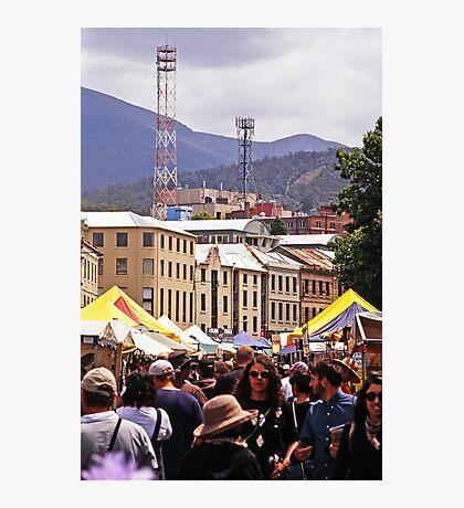 Salamanca Market—Hobart, Tasmania Photographic Print