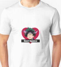 MY HERO ACADEMIA DEKU  - HEART SQUEEZE (Anime Shirt) Unisex T-Shirt