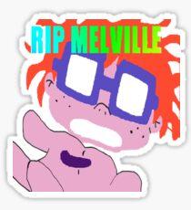 RIP Melville Sticker