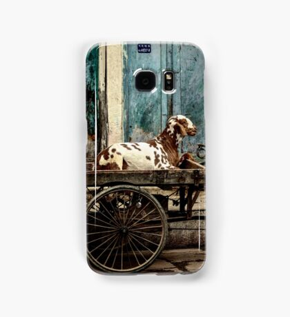 Goat on Wheels Samsung Galaxy Case/Skin