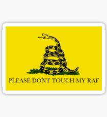 Please Don't Touch My Raf - ASAP (A$AP) Rocky Sticker Sticker