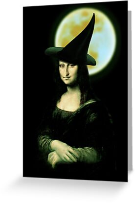 Mona Lisa...Witchy Woman by Gravityx9