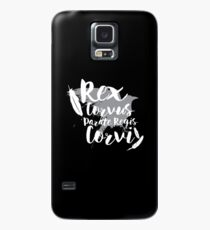 Make Way For The Raven King II Case/Skin for Samsung Galaxy