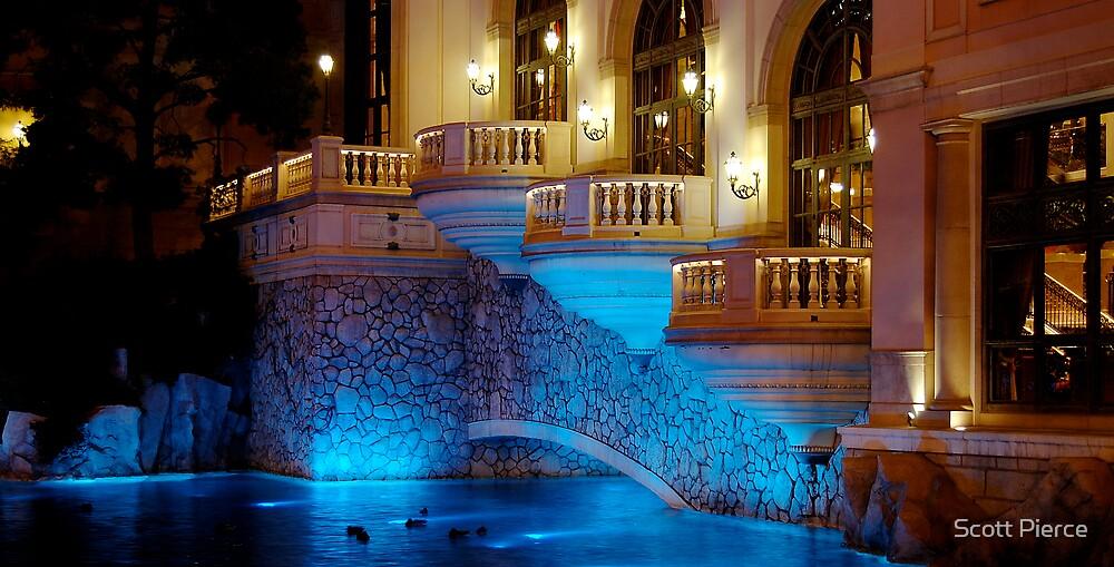 Bellagio in Blue by Scott Pierce
