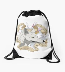 Wolf's rain Drawstring Bag