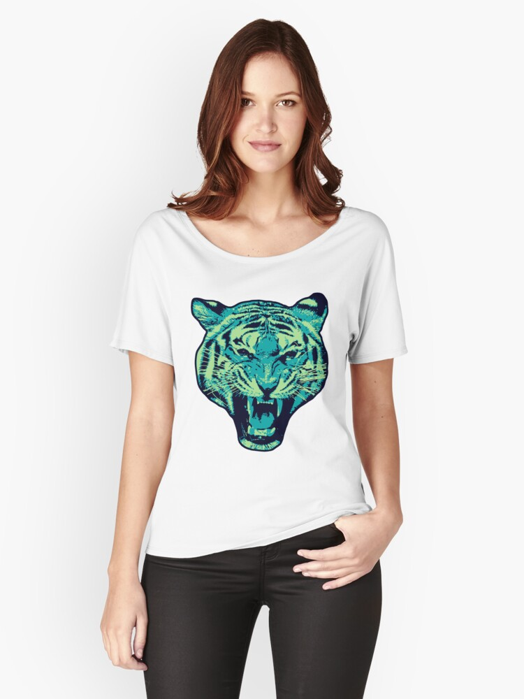 A Tiger made of Sky Women's Relaxed Fit T-Shirt Front