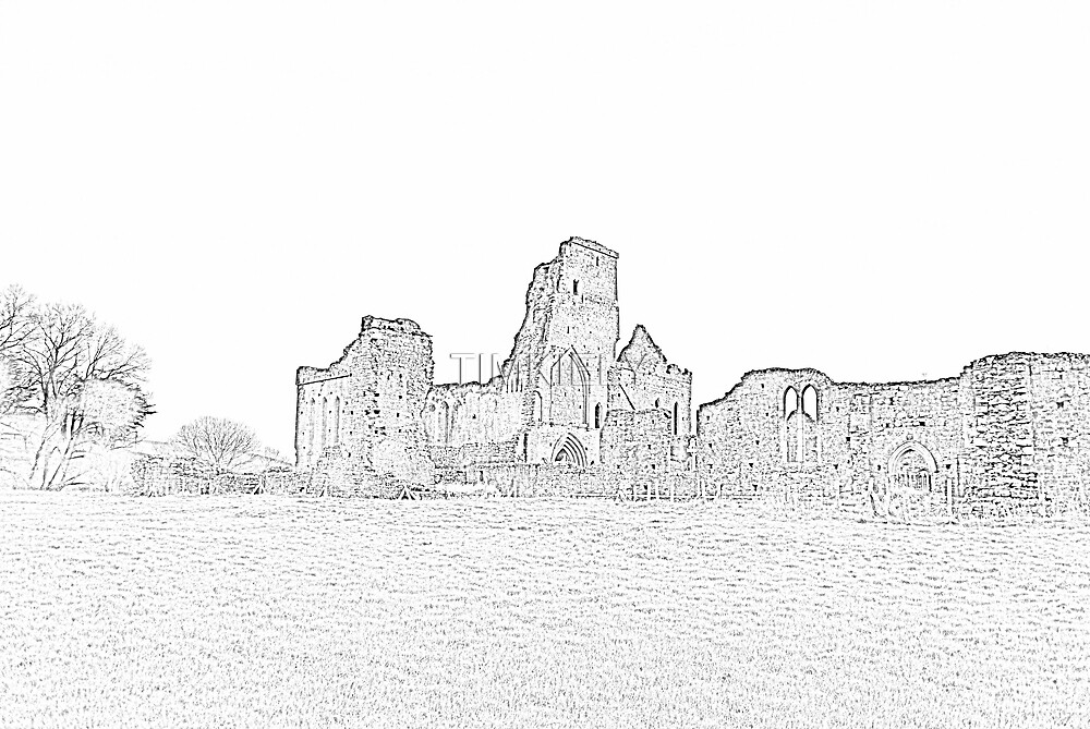 ATHASSEL ABBEY PENCIL by TIMKIELY