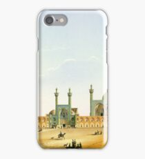 Pascal Coste's depiction of Naqsh-e Jahan Square, Isfahan iPhone Case/Skin