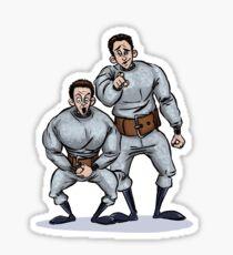 Hans and Franz - Saturday Night Live Legends Sticker