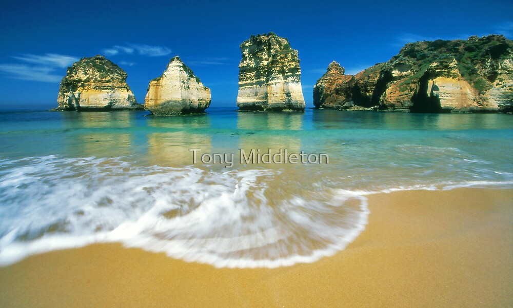 those rocks...that water... by Tony Middleton