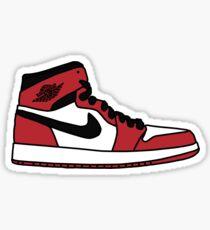 Jordan 1 Chicago Sticker