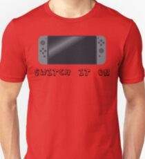 Video Game Inspired Console Nintendo Switch Unisex T-Shirt