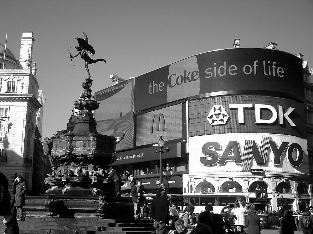 london cityscape by david bennett