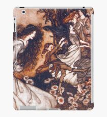 Fairies by Arthur Rackham iPad Case/Skin