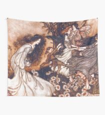 Fairies by Arthur Rackham Wall Tapestry