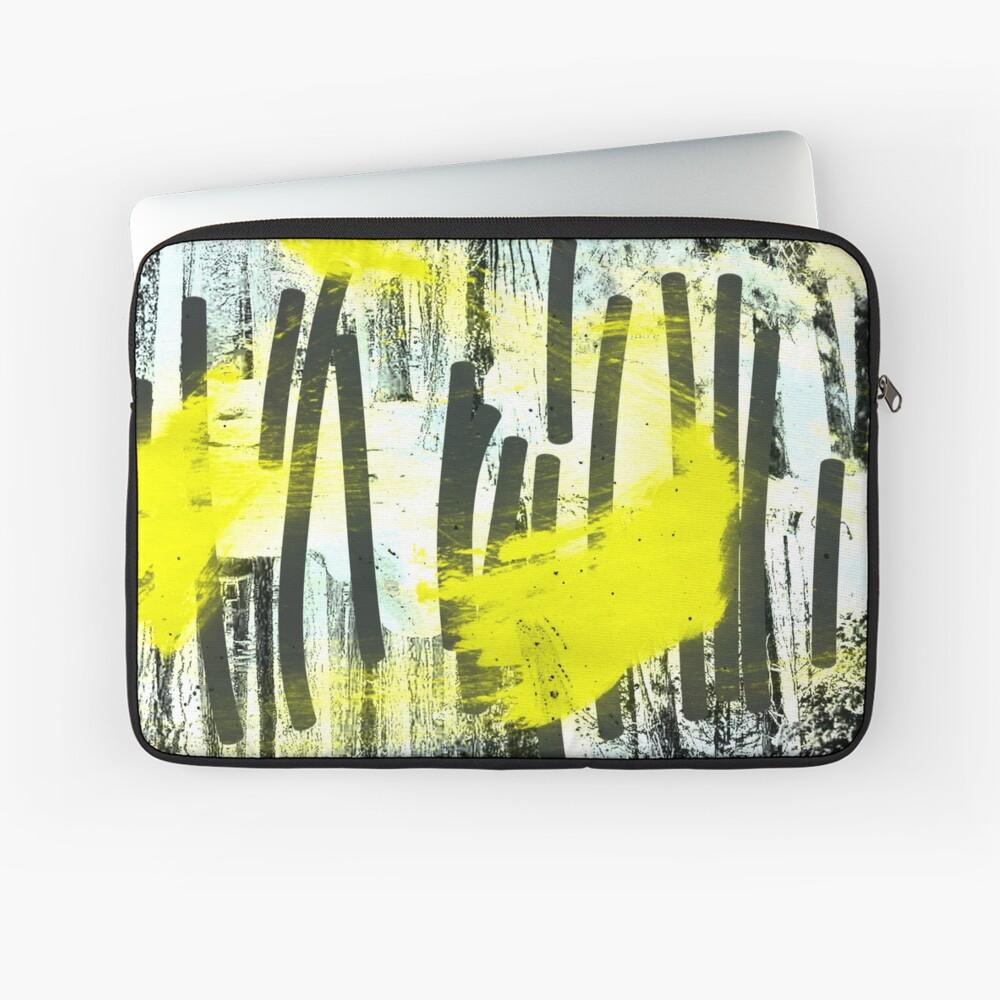 Jahrestagung der zitronengelben Waldfeen Laptoptasche