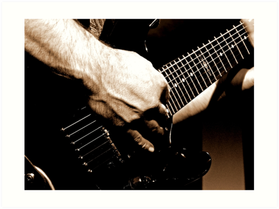 Gritty Guitar by mhphotographyuk