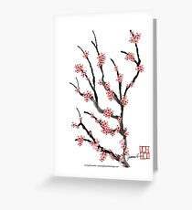 Pink Cherry Blossom 25 by Tony Fernandes Greeting Card
