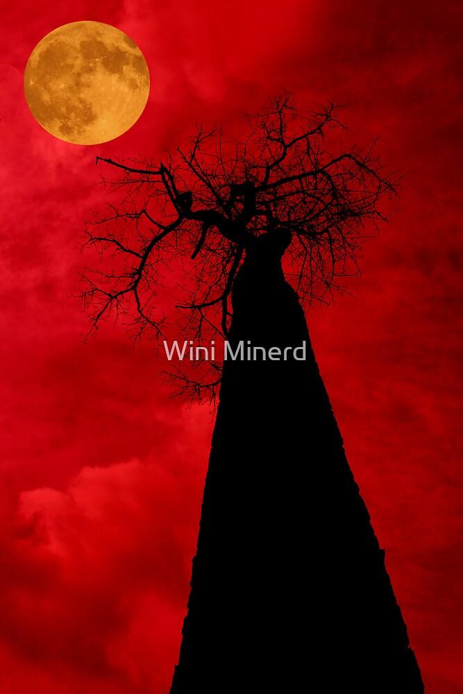 Blood Moon by Wini Minerd