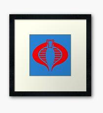 Cobra Command Framed Print
