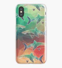 Geometric Sharks iPhone Case/Skin