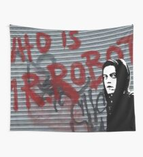 Mr Robot - Who is Mr Robot Wall Tapestry