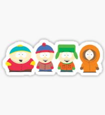 South Park Characters Sticker
