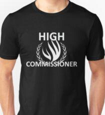 HIGH COMMISSIONER  Unisex T-Shirt