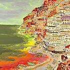 «Una vista costera de Positano» de Loredana Messina