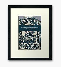 Illustrated Man - Ray Bradbury Framed Print