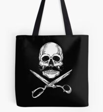 Barber Jolly Roger Tote Bag