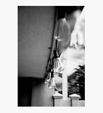 BW - Lightbulb Photographic Print