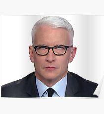 Anderson Cooper Eye Roll  Poster