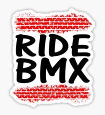 Ride Bmx Sticker