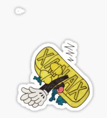 Sleeping Xanax Bar Sticker