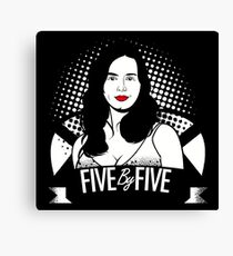 five by five baby Canvas Print