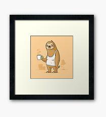 Monday Morning Depresso Framed Print