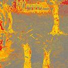 Yellow shadows by Loredana Messina