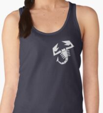 Abarth scorpion (white) Women's Tank Top