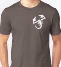 Abarth scorpion (white) Unisex T-Shirt