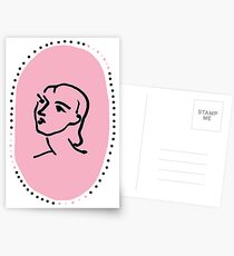 Pink Nadia Postcards