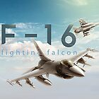 F-16 Fighting Falcon by rott515