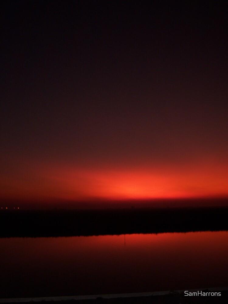 sunset by SamHarrons