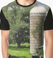 A cloudy spring day on the farm Graphic T-Shirt