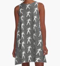 The Pedestrian A-Line Dress